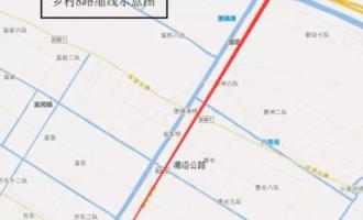 2019年10月8日至2020年2月28日 崇明乡村8路将缩线行驶 请市民们相互转告 以免耽误出行